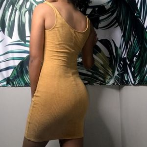 Yellow dress from American Eagle